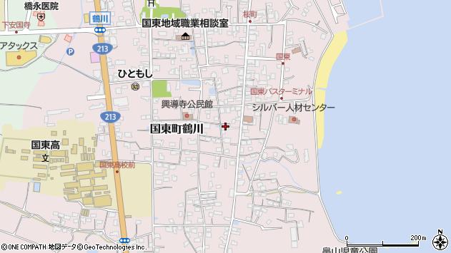 大分県国東市国東町鶴川1214周辺の地図