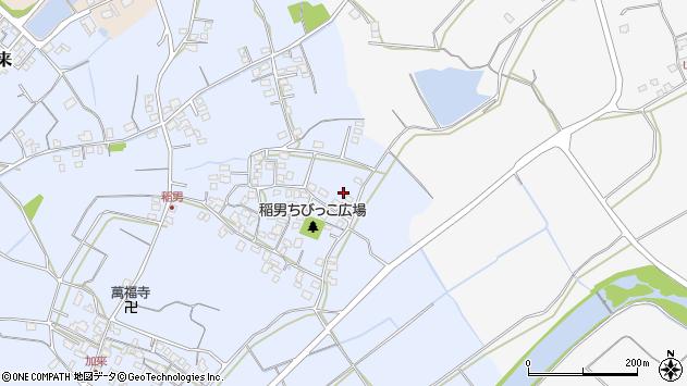 大分県中津市加来328周辺の地図
