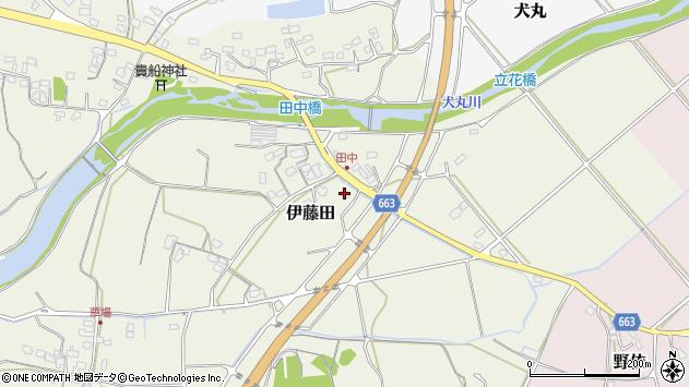 大分県中津市伊藤田1810周辺の地図