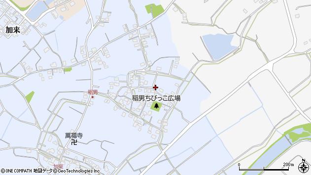 大分県中津市加来319周辺の地図