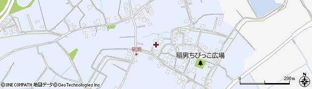 大分県中津市加来414周辺の地図
