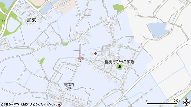 大分県中津市加来398周辺の地図