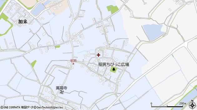 大分県中津市加来229周辺の地図