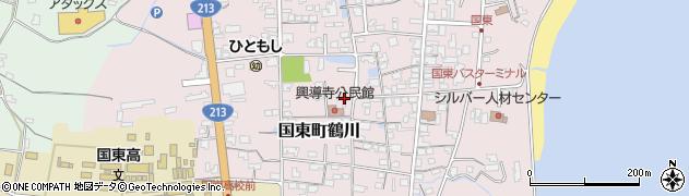 大分県国東市国東町鶴川1378周辺の地図