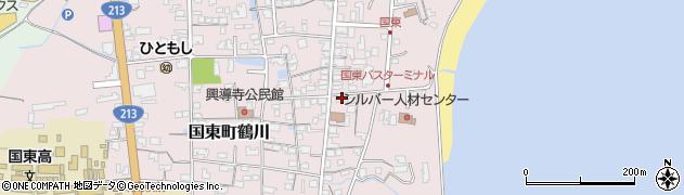 大分県国東市国東町鶴川725周辺の地図
