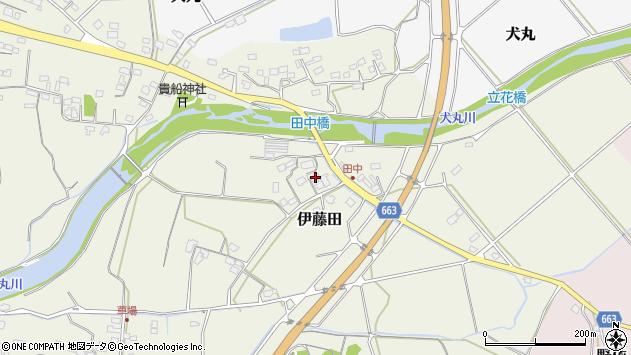 大分県中津市伊藤田1834周辺の地図