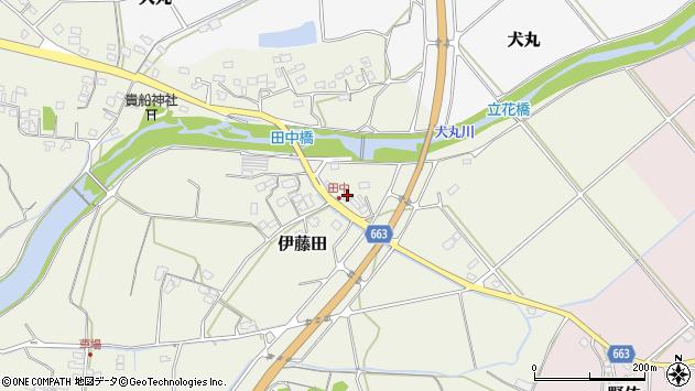 大分県中津市伊藤田1874周辺の地図