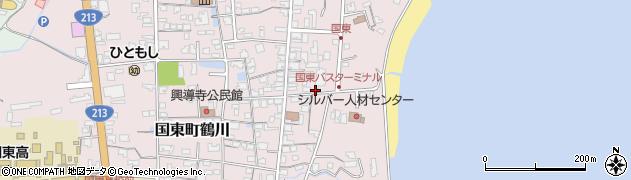 大分県国東市国東町鶴川720周辺の地図