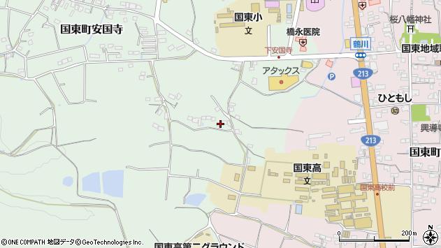 大分県国東市国東町安国寺513周辺の地図