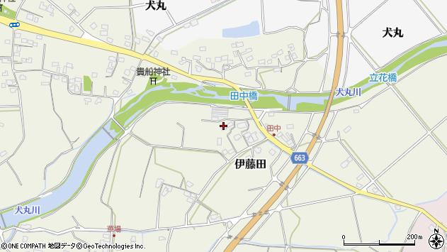 大分県中津市伊藤田1828周辺の地図