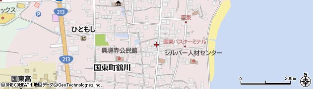大分県国東市国東町鶴川1247周辺の地図