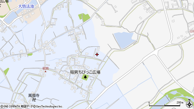 大分県中津市加来334周辺の地図