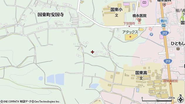 大分県国東市国東町安国寺503周辺の地図
