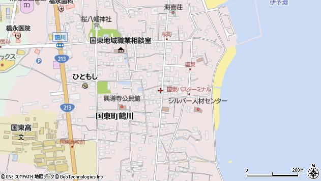 大分県国東市国東町鶴川1248周辺の地図