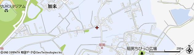 大分県中津市加来569周辺の地図