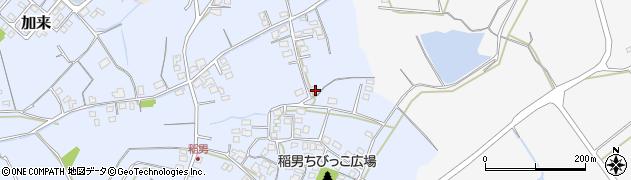 大分県中津市加来344周辺の地図