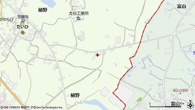大分県中津市植野1008周辺の地図