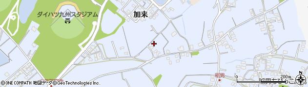 大分県中津市加来548周辺の地図