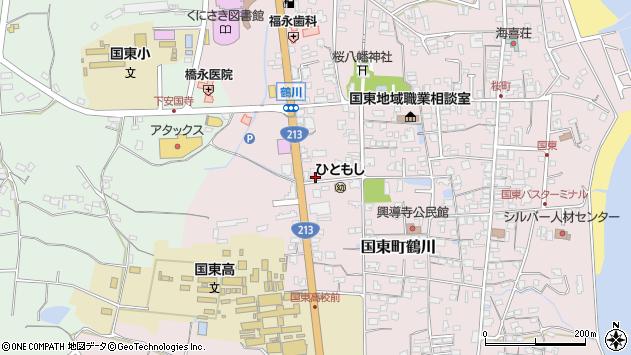 大分県国東市国東町鶴川1839周辺の地図