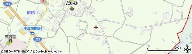 大分県中津市植野650周辺の地図
