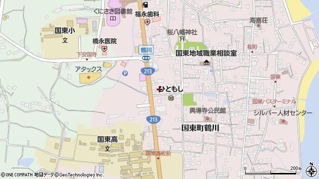 大分県国東市国東町鶴川1838周辺の地図