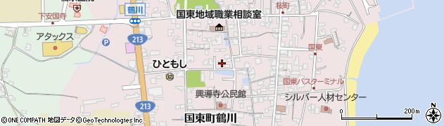 大分県国東市国東町鶴川1362周辺の地図