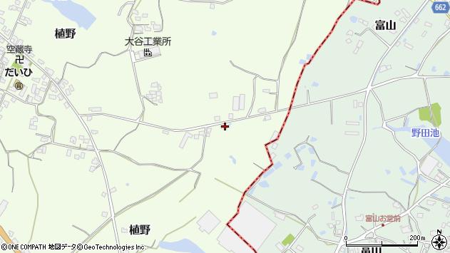 大分県中津市植野997周辺の地図