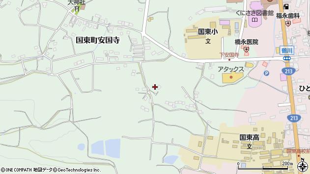 大分県国東市国東町安国寺569周辺の地図