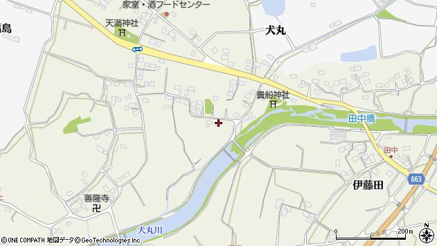大分県中津市伊藤田2460周辺の地図