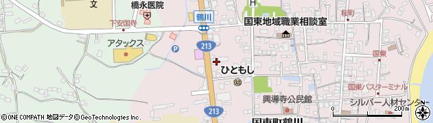 大分県国東市国東町鶴川1899周辺の地図