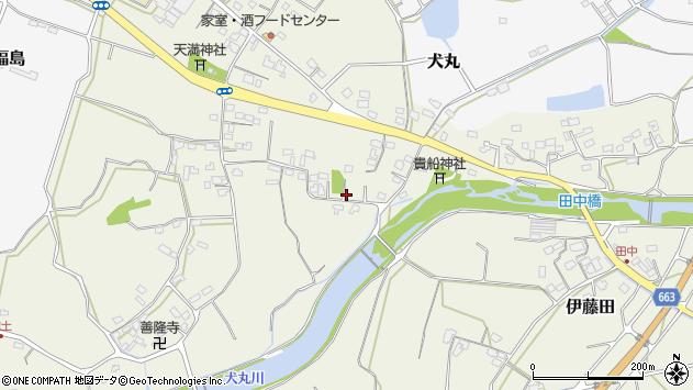 大分県中津市伊藤田2658周辺の地図