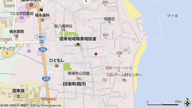 大分県国東市国東町鶴川1269周辺の地図