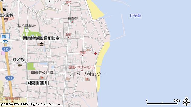 大分県国東市国東町鶴川564周辺の地図