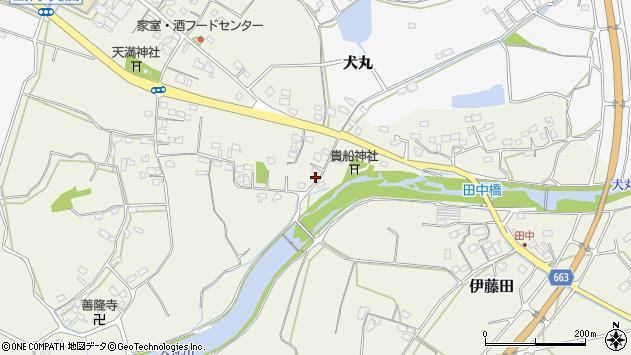 大分県中津市伊藤田2673周辺の地図