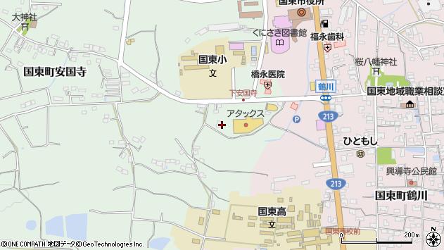 大分県国東市国東町安国寺33周辺の地図