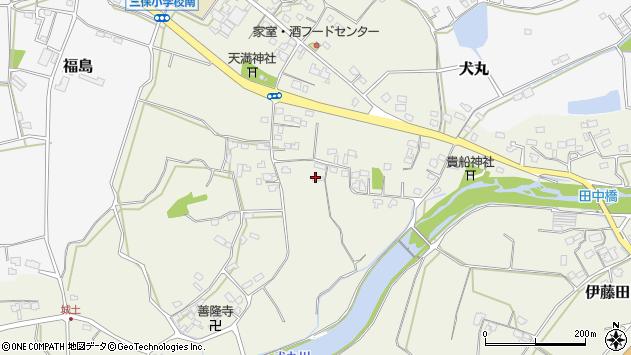 大分県中津市伊藤田2551周辺の地図