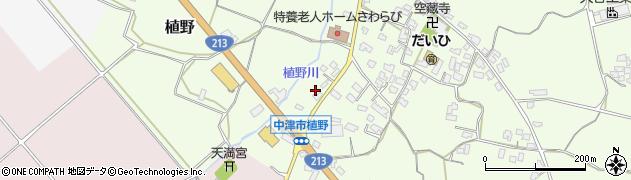 大分県中津市植野219周辺の地図