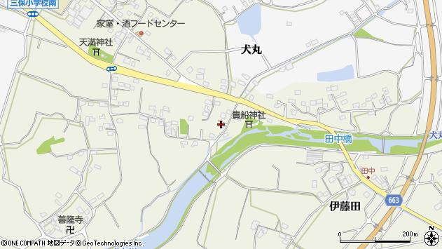 大分県中津市伊藤田3147周辺の地図