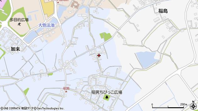 大分県中津市加来359周辺の地図