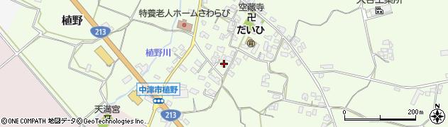 大分県中津市植野316周辺の地図