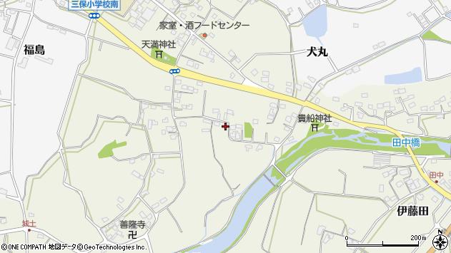 大分県中津市伊藤田2634周辺の地図