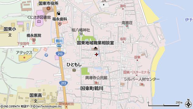 大分県国東市国東町鶴川1365周辺の地図