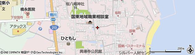 大分県国東市国東町鶴川1301周辺の地図