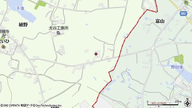 大分県中津市植野965周辺の地図