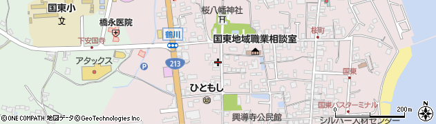 大分県国東市国東町鶴川1848周辺の地図