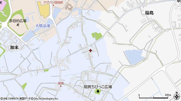 大分県中津市加来362周辺の地図
