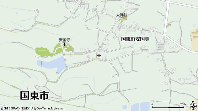 大分県国東市国東町安国寺2422周辺の地図