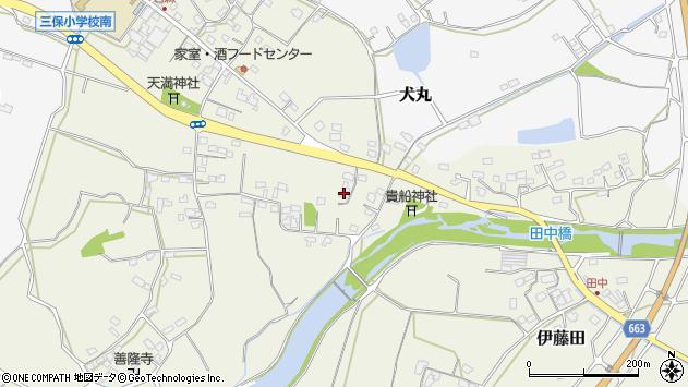 大分県中津市伊藤田2654周辺の地図