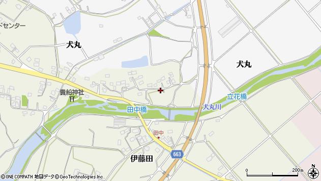大分県中津市伊藤田2311周辺の地図
