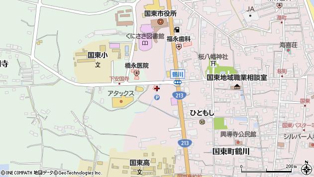 大分県国東市国東町鶴川2694周辺の地図